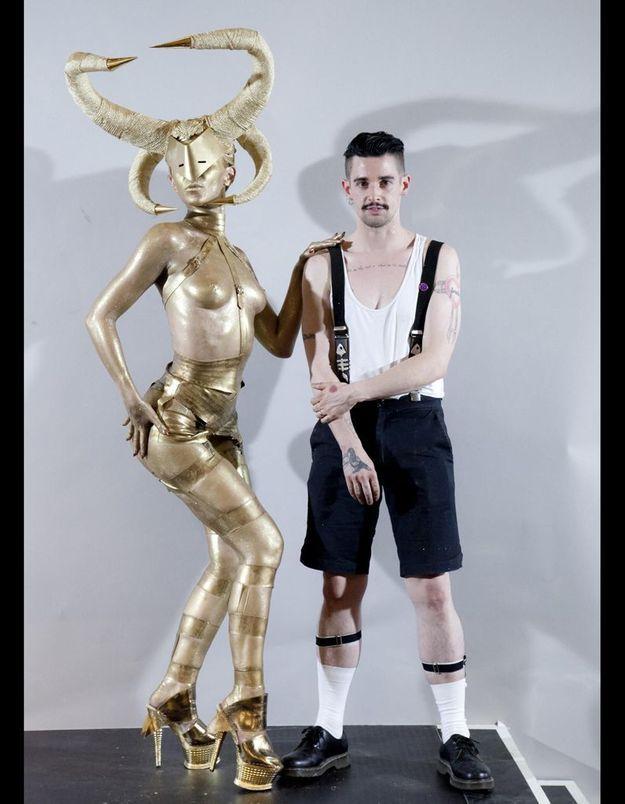 """""""Gold Sabah"""" Charlie Le Mindu"""