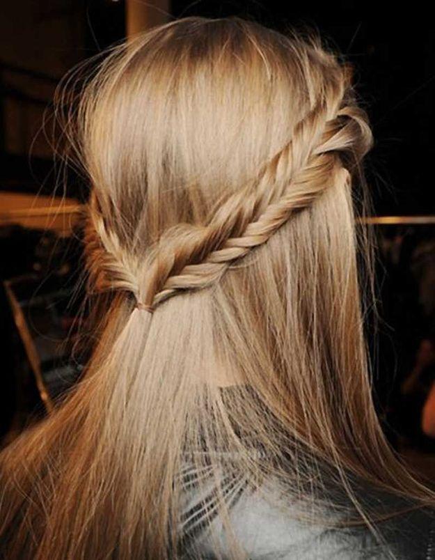 Coiffure cheveux fins mariage