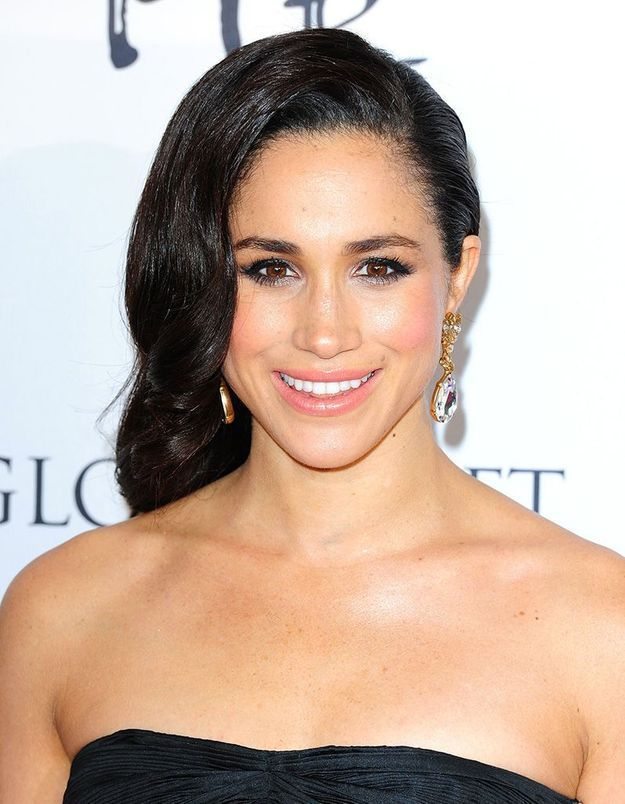 Le side hair hollywoodien de Meghan Markle