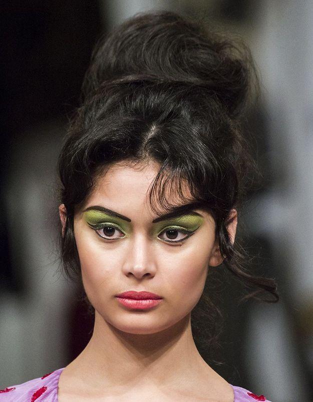 4) La coiffure années 60