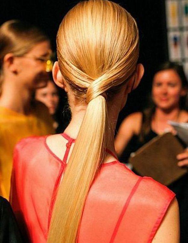 Coiffure Réveillon cheveux longs