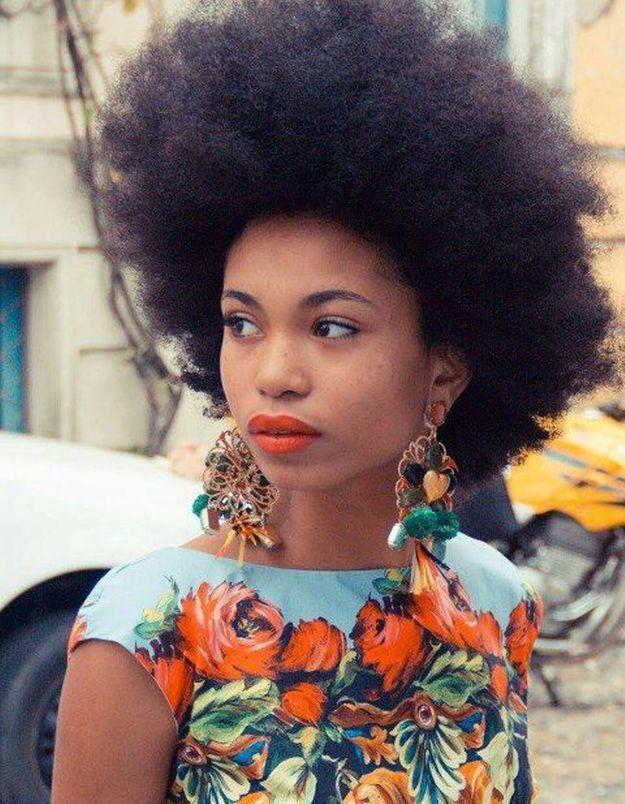 Cheveux afro naturels printemps été 2015