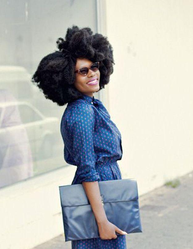 Coupe de cheveux afro américaine femme hiver 2015