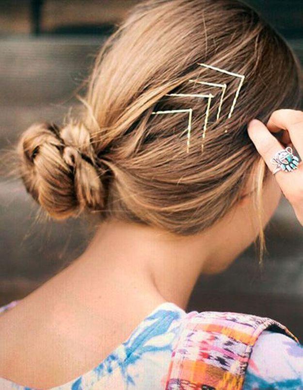Coiffure facile cheveux mi-long