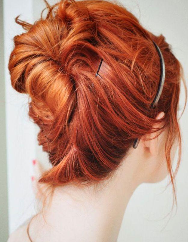 Idée coiffure facile et rapide