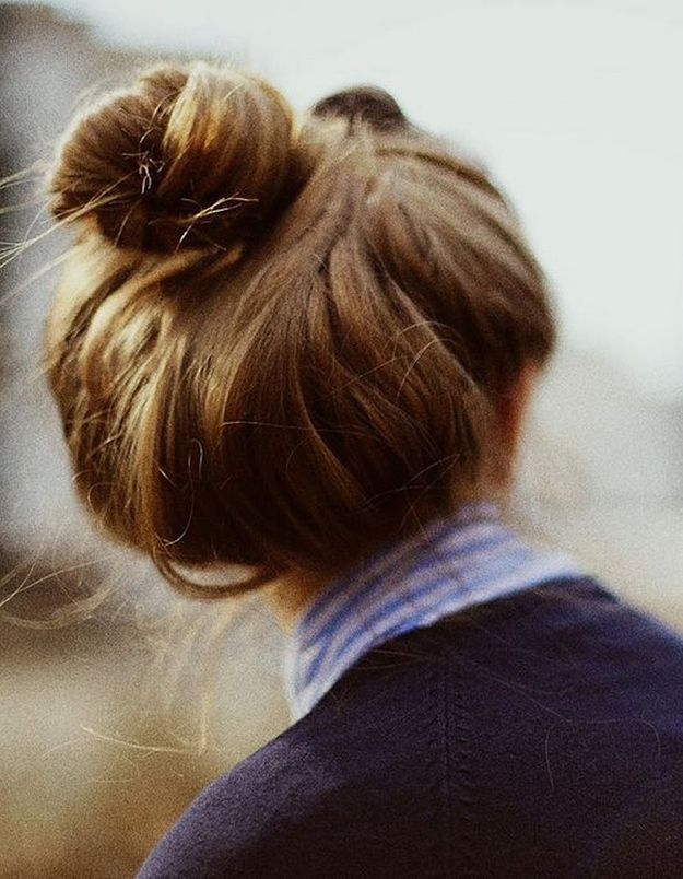 Coiffure cheveux mi-longs facile et rapide automne-hiver 2016