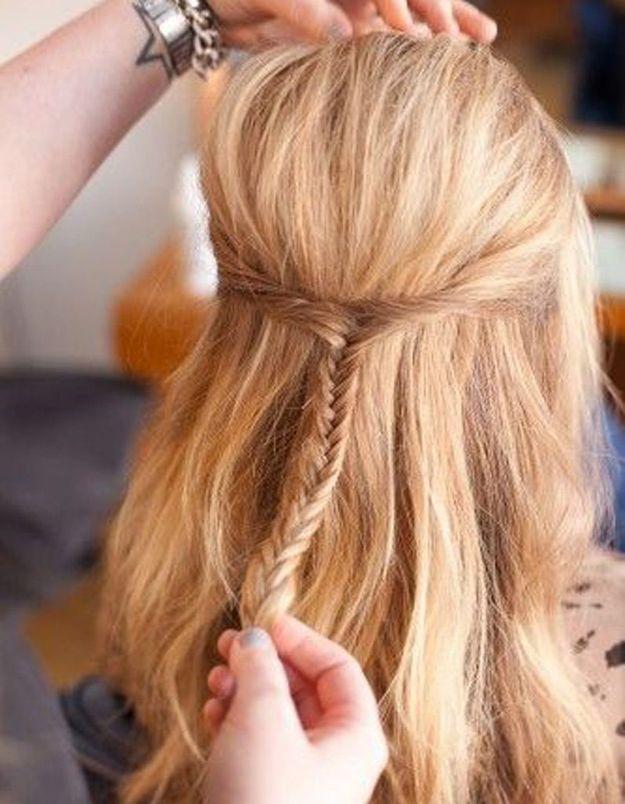 Coupe de cheveux mi-longs pour femme automne-hiver 2016