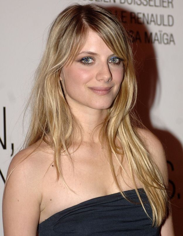 Avant : Mélanie Laurent blonde