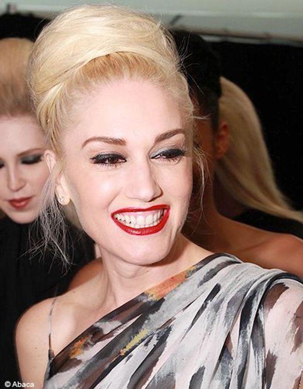 Beaute cheveux coiffure tendance chignon haut Gwen Stefani
