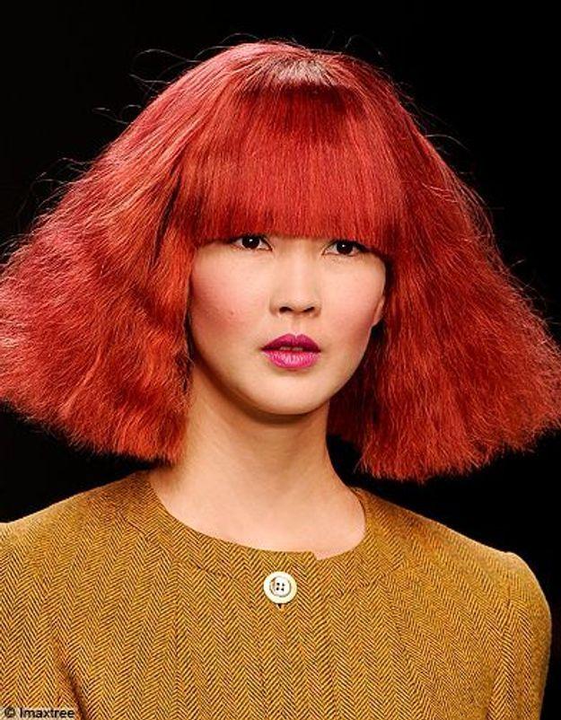 Beaute tendance cheveux coiffure coupe carre defiles Costelloe