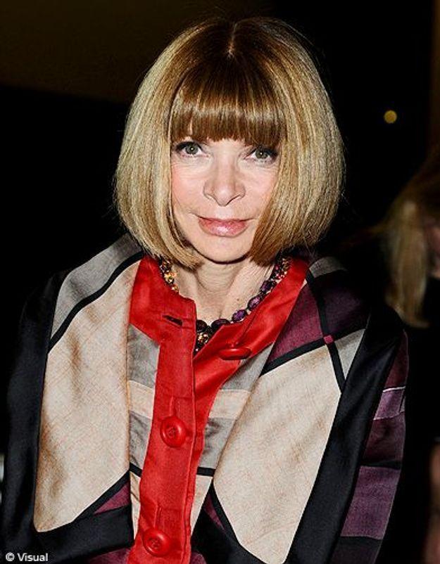 Beaute tendance cheveux coiffure coupe carre people Anna Wintour