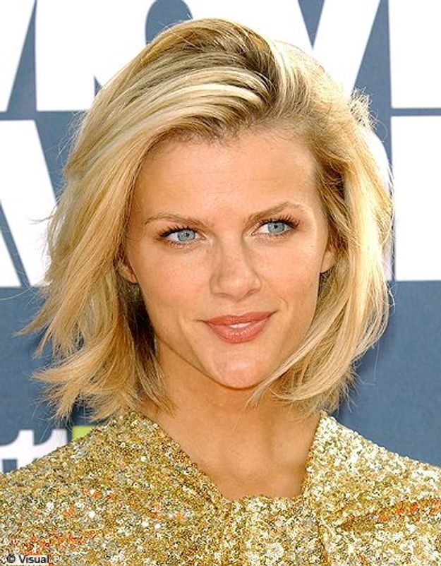 Beaute tendance cheveux coiffure coupe carre people Brooklyn Decker