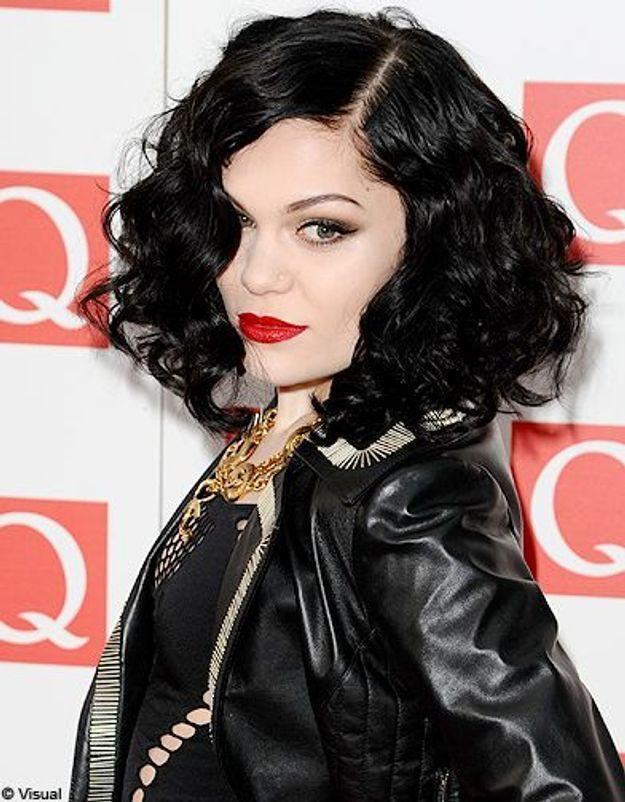 Beaute tendance cheveux coiffure coupe carre people Jessie J