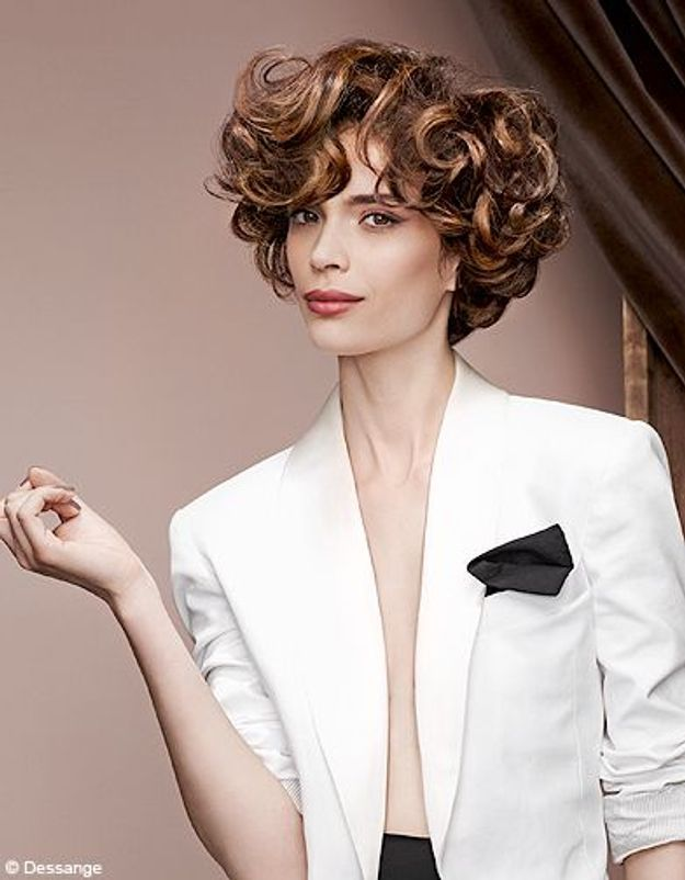 Beaute tendance cheveux coiffure hiver desange SmockingRetro