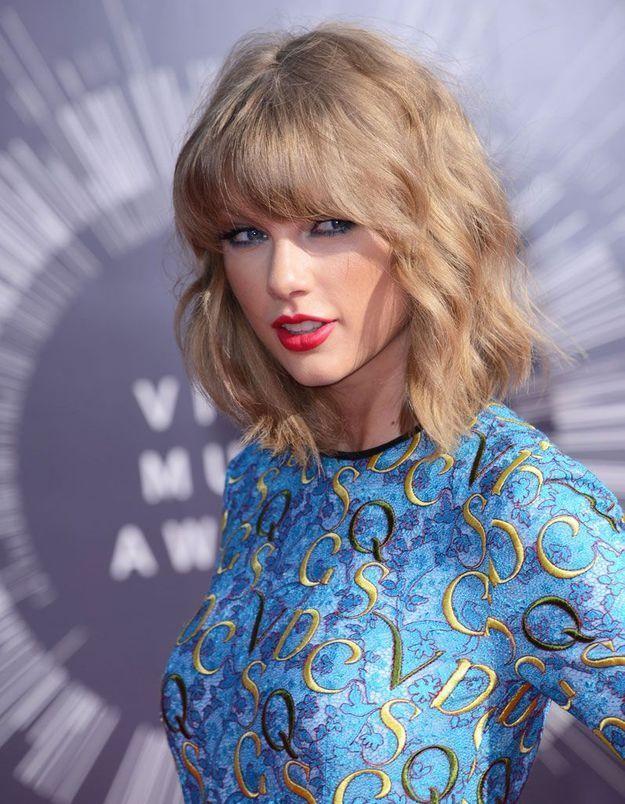 Le carré flou de Taylor Swift