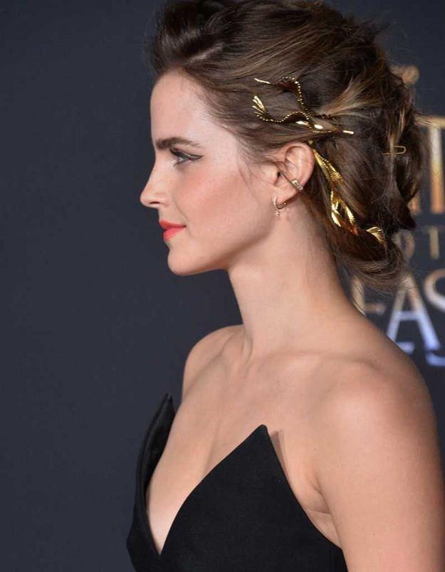 Le chignon d'Emma Watson