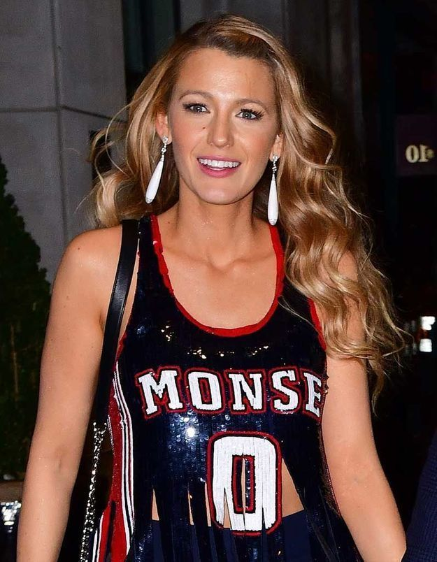 Les ondulations brillantes de Blake Lively