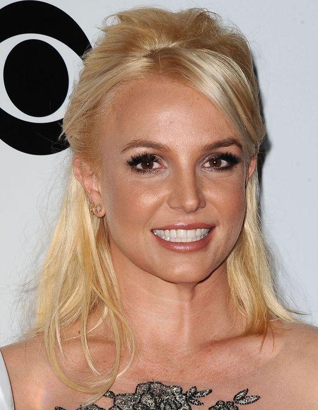 Britney Spears en blonde