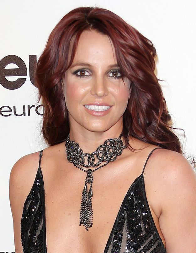 Britney Spears en brune