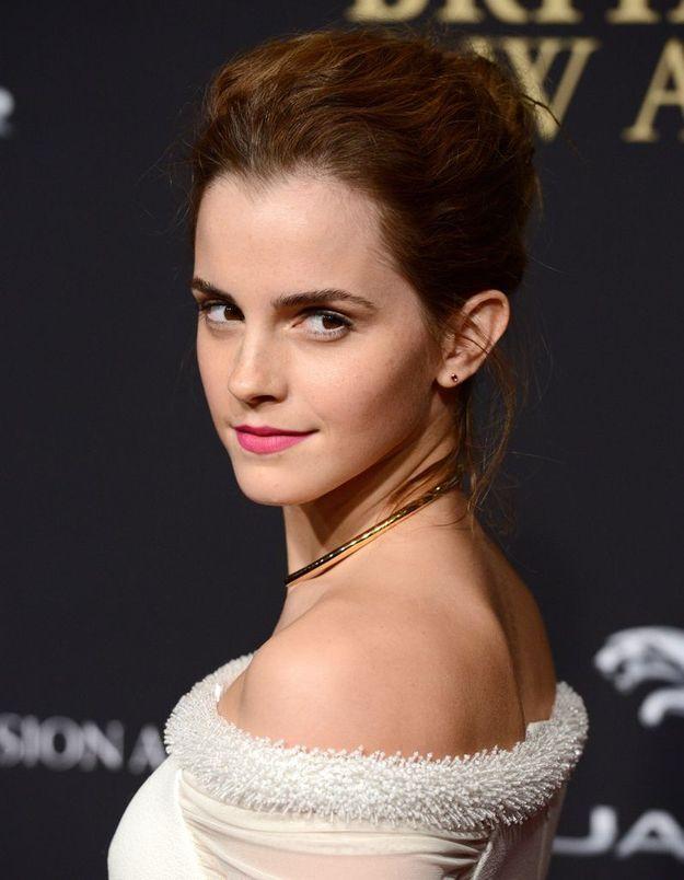 Emma Watson en brune