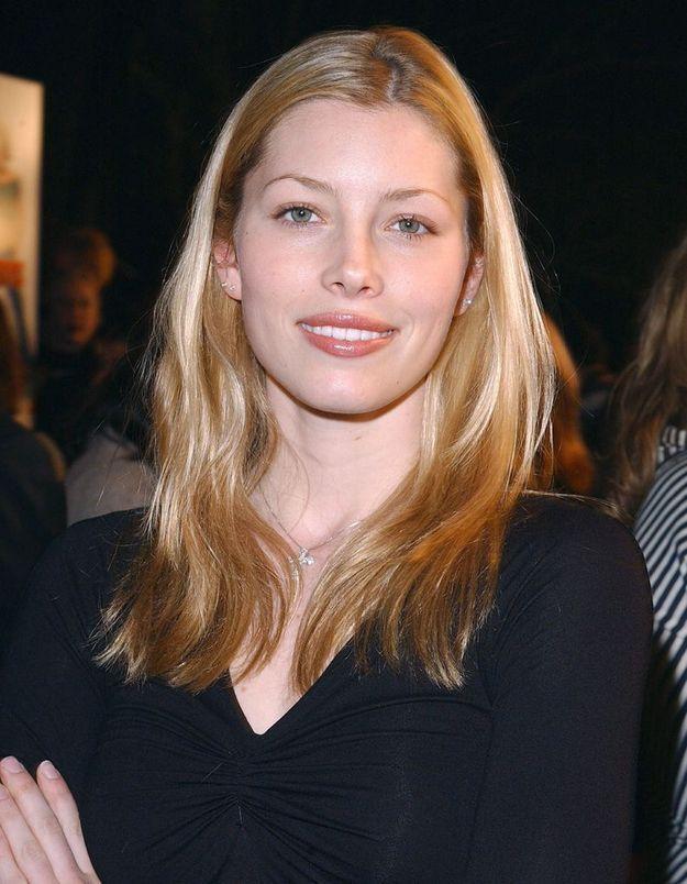 Jessica Biel en blonde