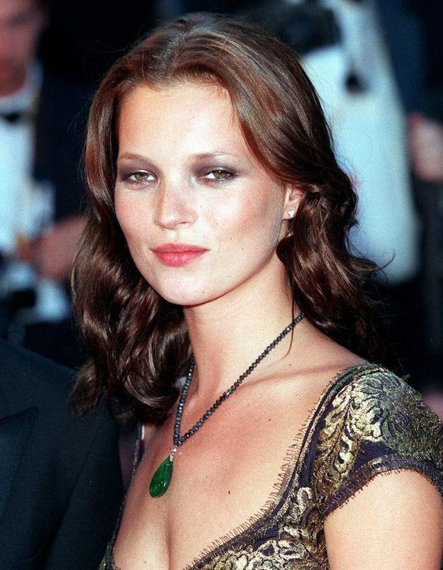 Kate Moss en brune
