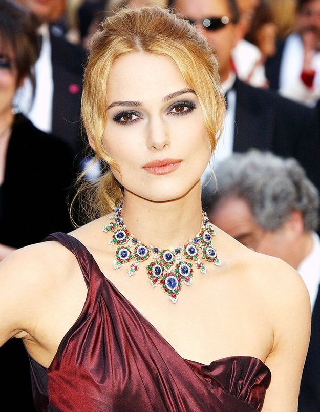 Keira Knightley en blonde