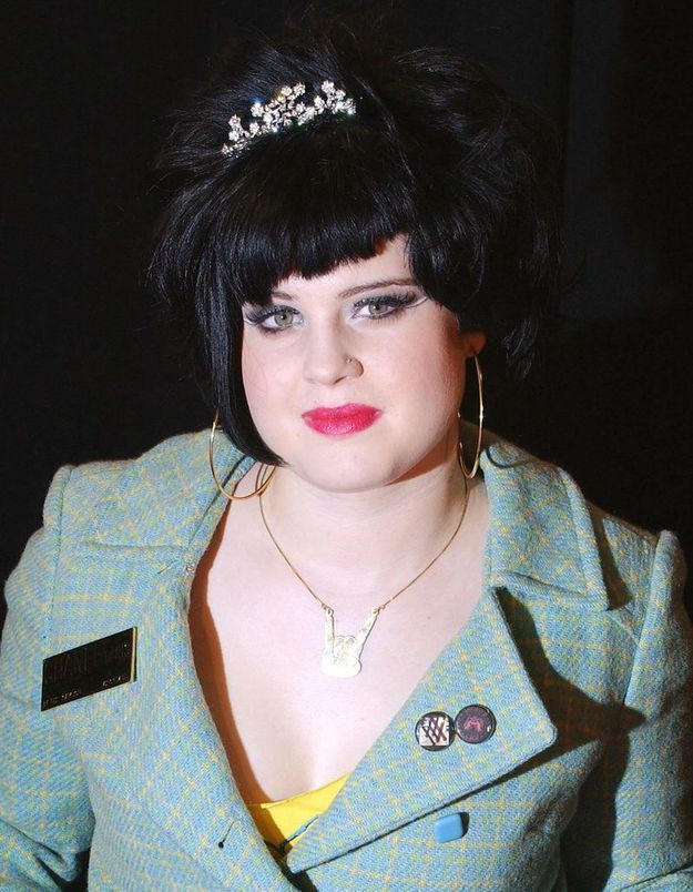 Kelly Osbourne en brune
