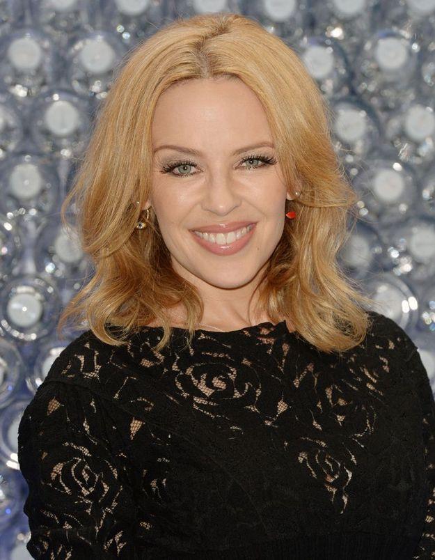 Kylie Minogue en blonde