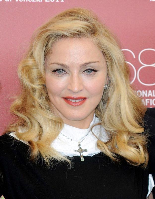 Madonna en blonde