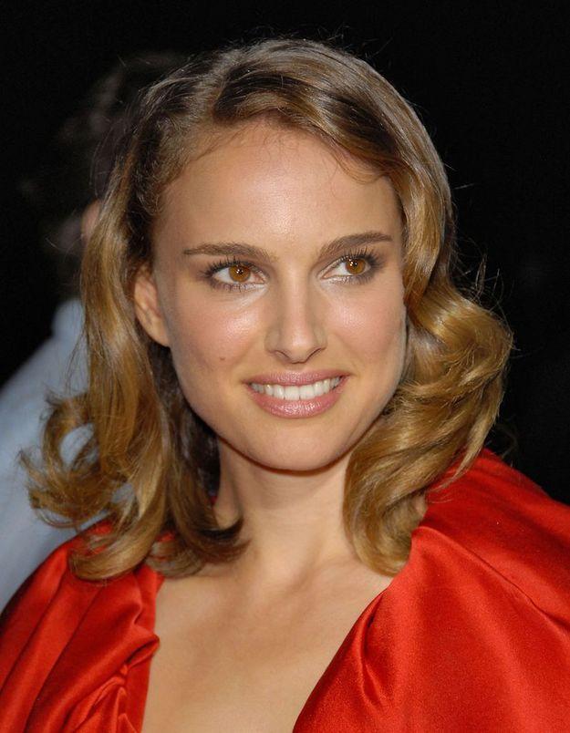 Natalie Portman en blonde