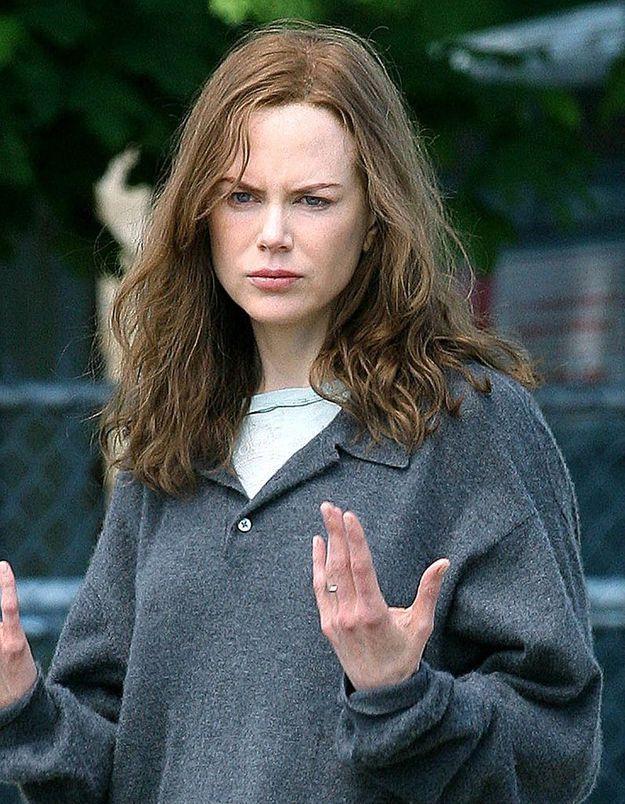 Nicole Kidman en brune