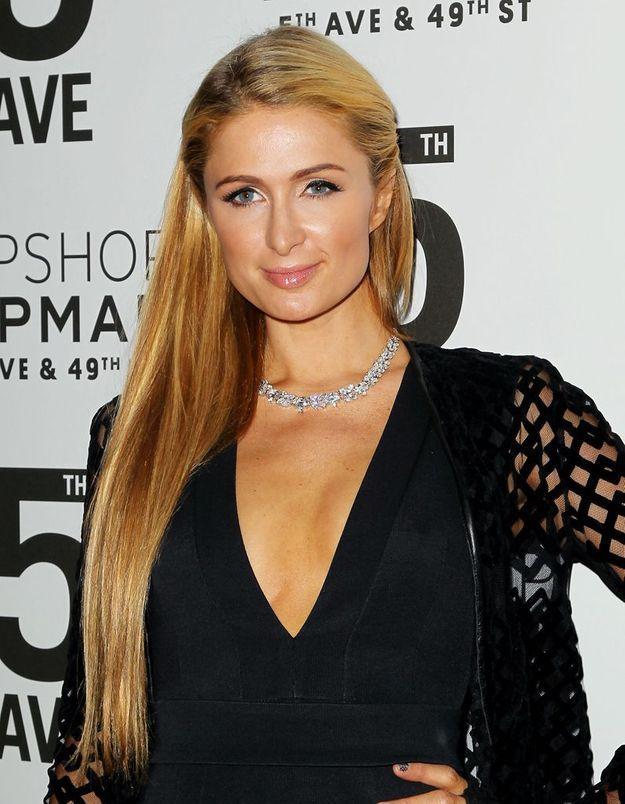 Paris Hilton en blonde