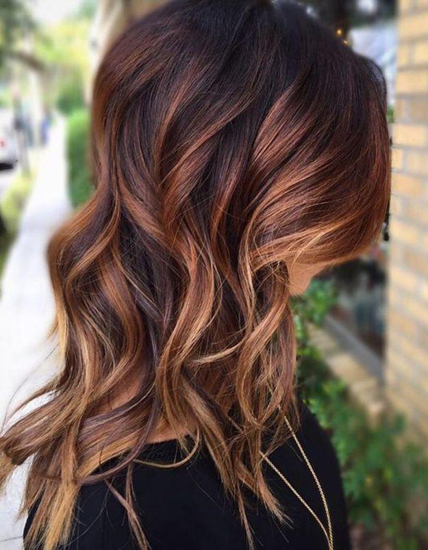 Cheveux Brun Caramel WGF66 , Napanonprofits