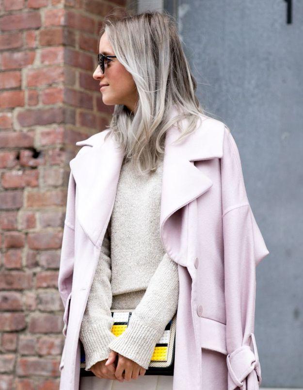 Coloration grise tendance