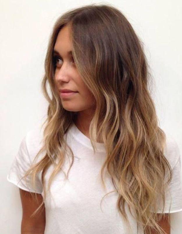 Ombré hair tendance
