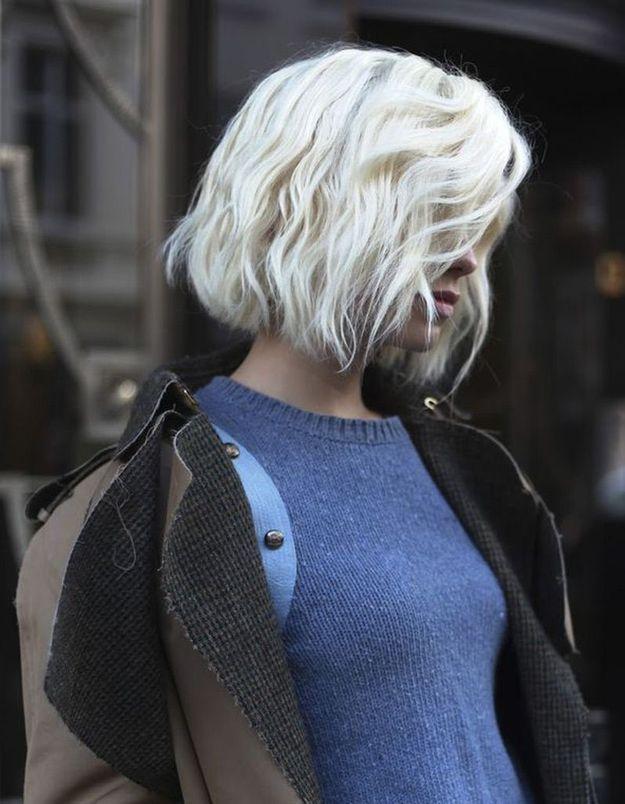 Coupe de cheveux carré dégradée effilé automne-hiver 2016