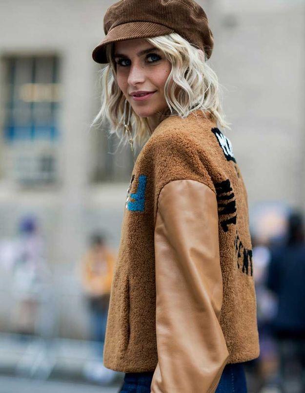 Carré long blond automne hiver 2018