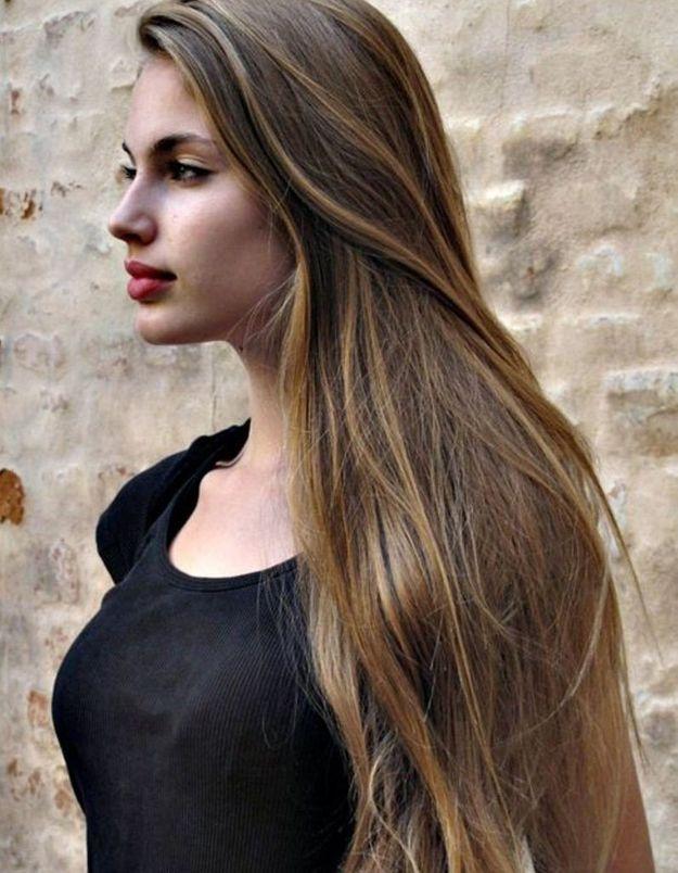 Cheveux longs lisses 2016