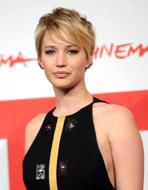 La coupe garçonne de Jennifer Lawrence