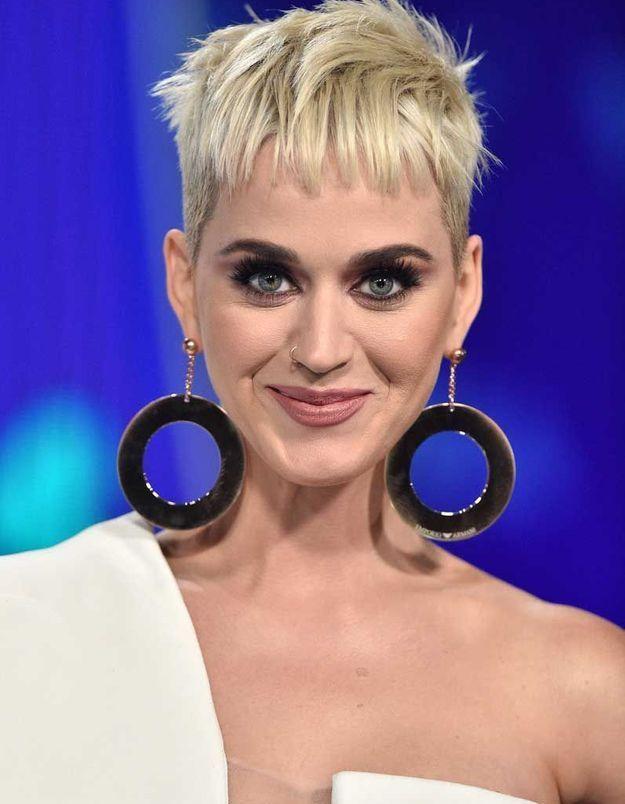 La coupe garçonne de Katy Perry