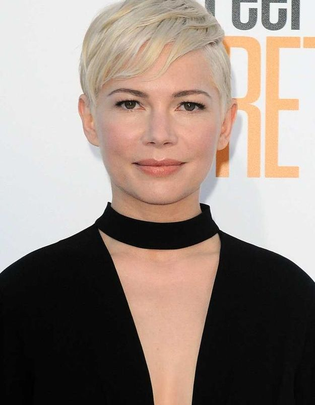 La coupe garçonne de Michelle Williams