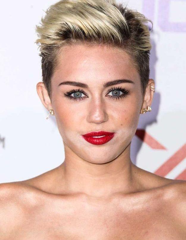 La coupe garçonne de Miley Cyrus