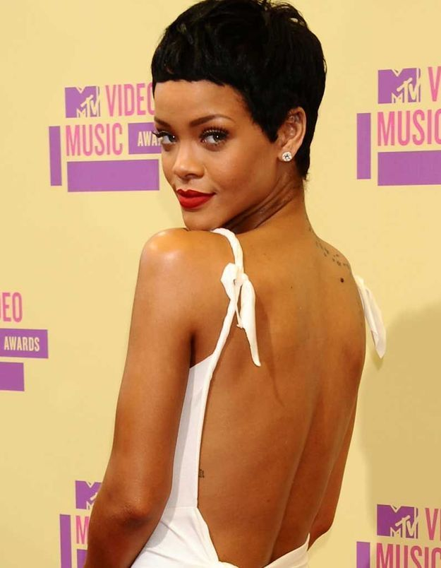 La coupe garçonne de Rihanna