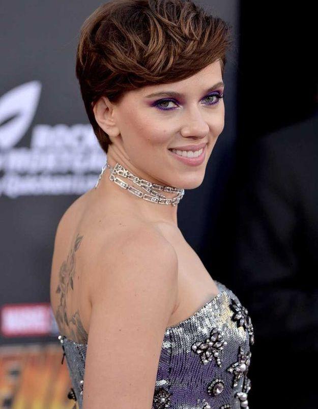La coupe garçonne de Scarlett Johansson
