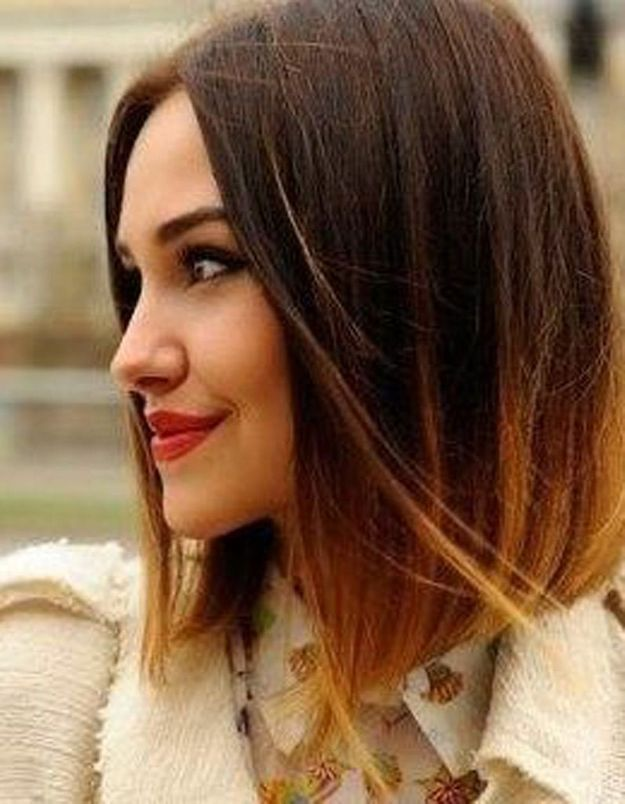 Coupe carre ombre hair cheveux courts