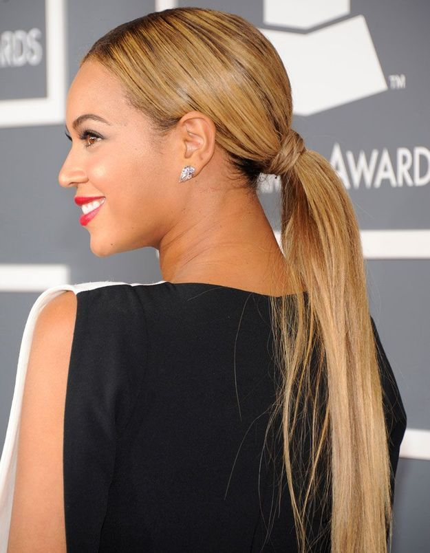La queue-de-cheval de Beyoncé aux Grammy Awards, en 2013