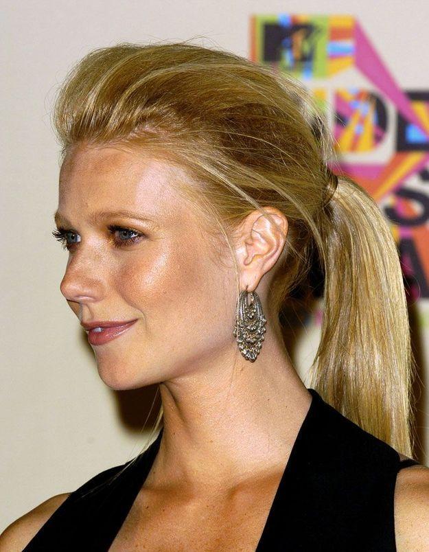 La queue-de-cheval de Gwyneth Paltrow au MTV Music Awards, en 2004