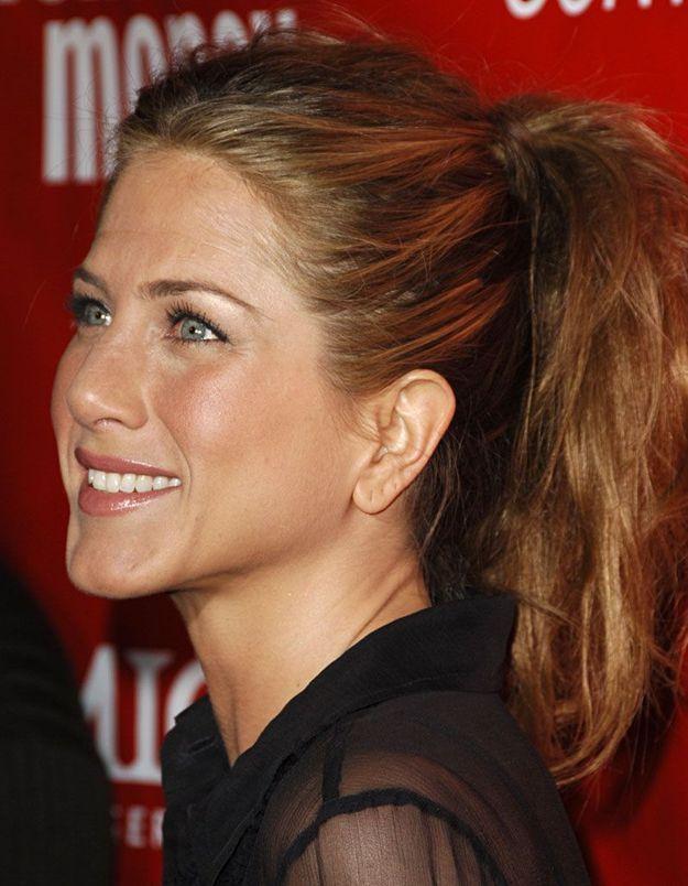 La queue-de-cheval de Jennifer Aniston, en 2006