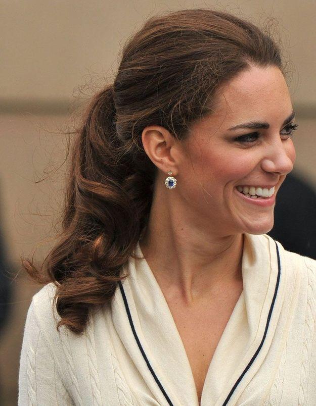 La queue-de-cheval de Kate Middleton, en 2011
